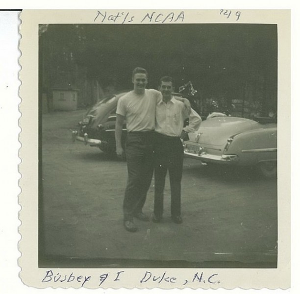 1949 Fletcher Busbey at Duke.jpg