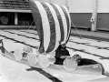1974-Viking Mascot in CSU pool.jpg