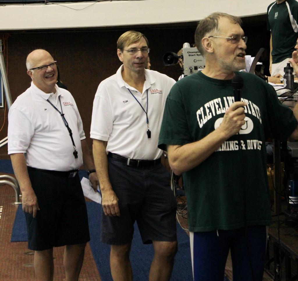 Jim and Tom backstop Gerry Meyer