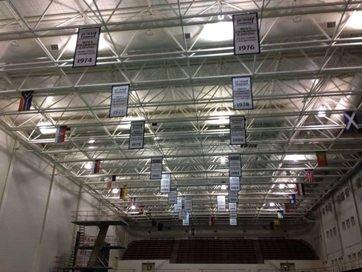 banners waving high